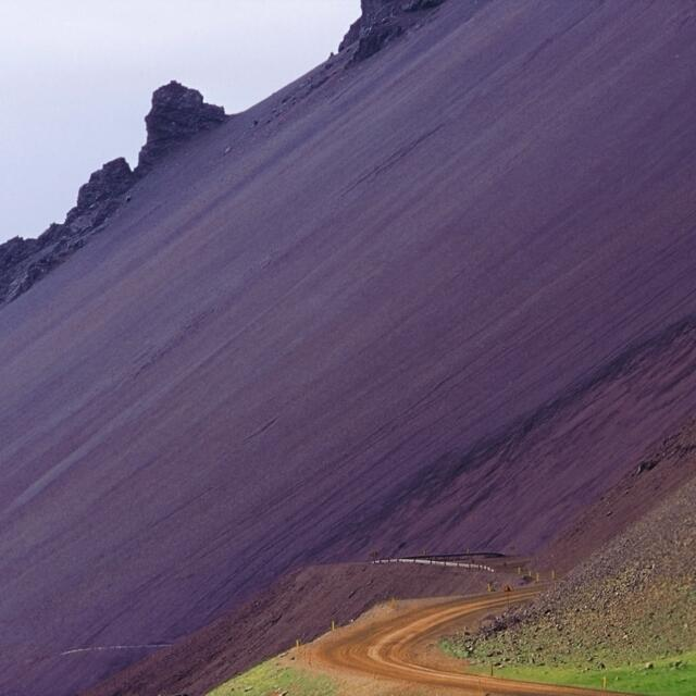 Mountain on Iceland