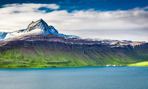 Iceland Mountain in Westfjords