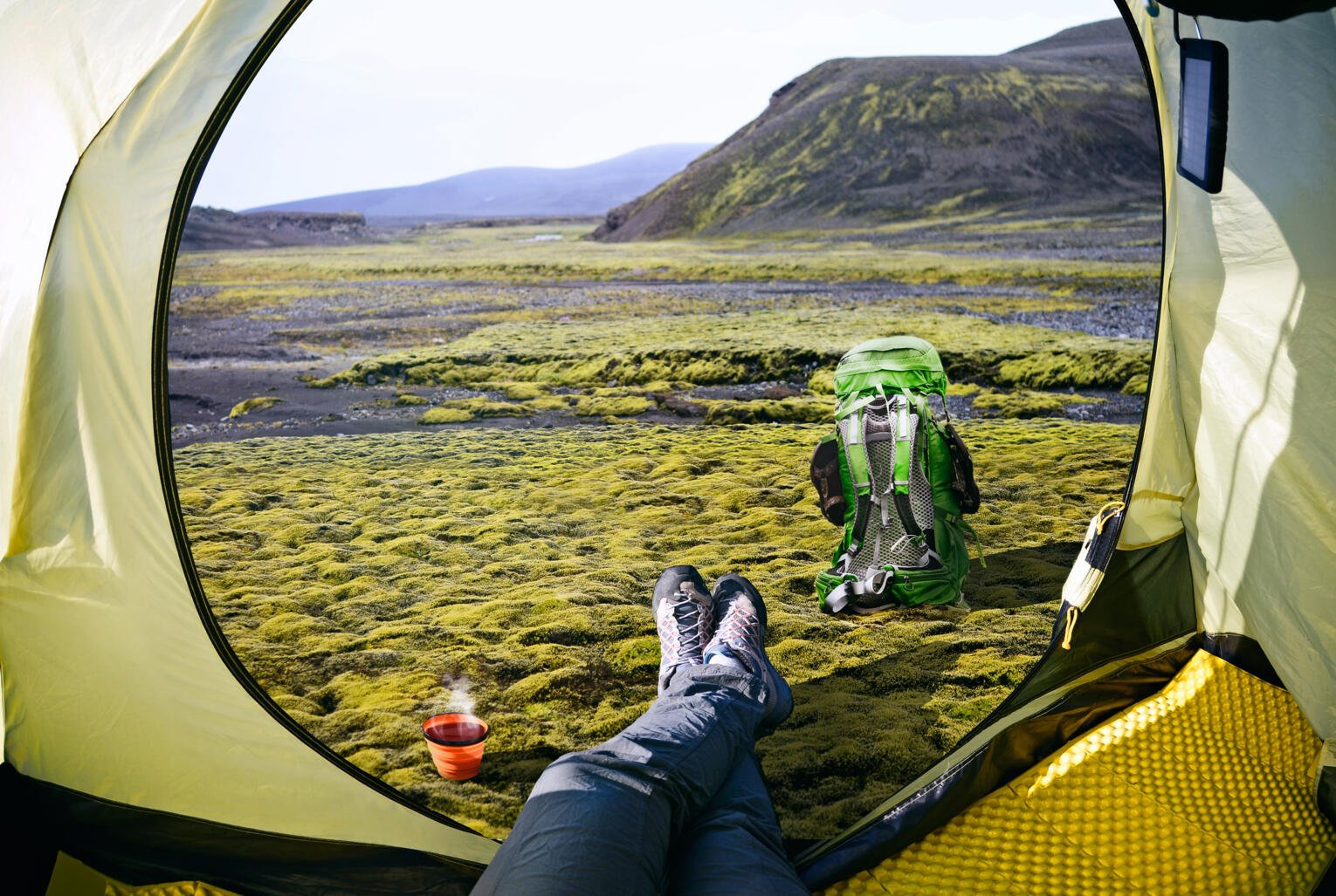 Camping in Iceland Tent